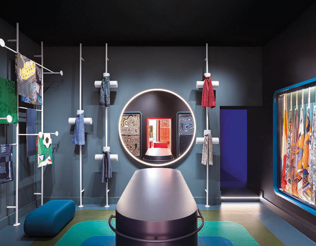 Man Collection Hermes temporary store Roma 2020