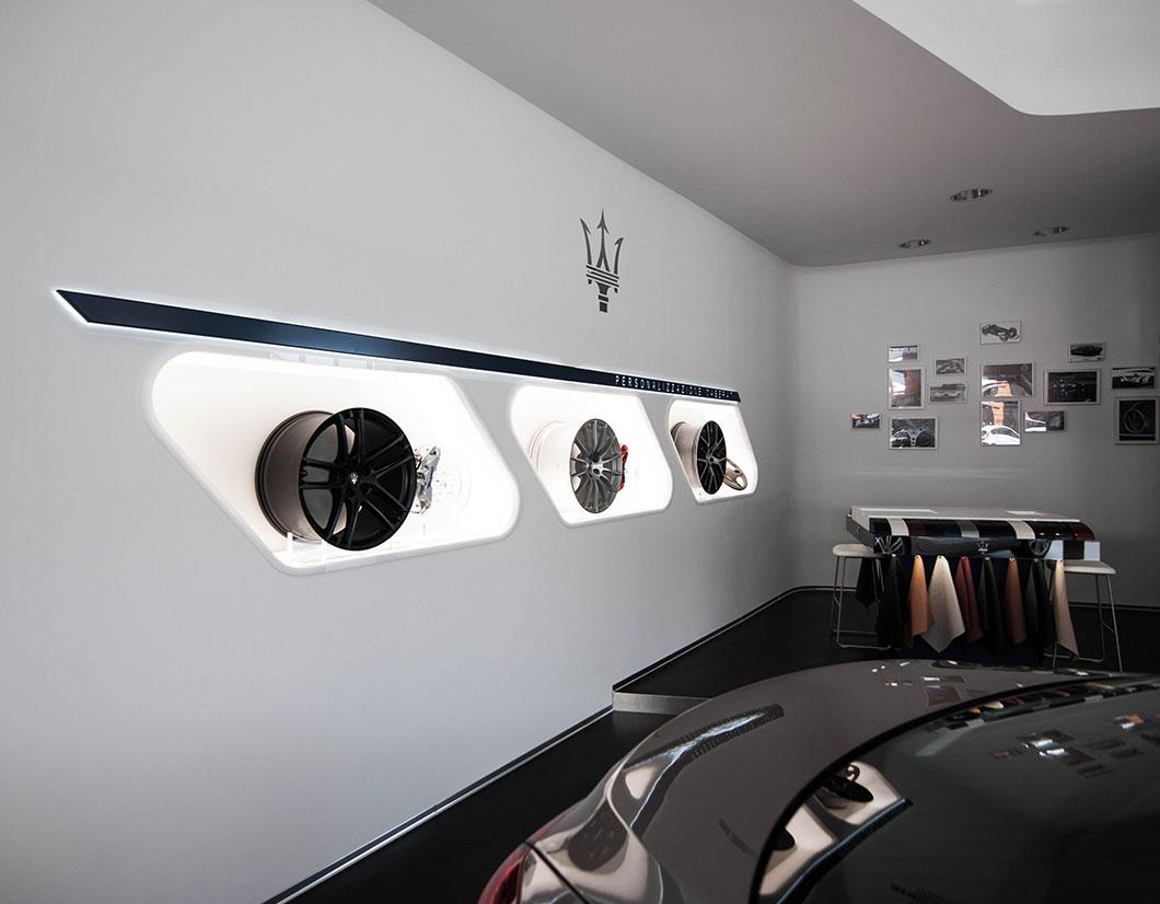 design arredo area showroom by simone piva